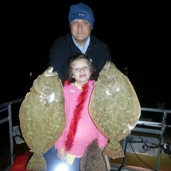 Galveston Flounder Fishing Report